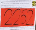 2252 Sammeleinwendungen übergeben